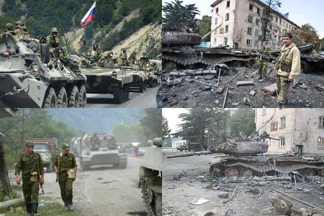 Война Осетии и Грузии