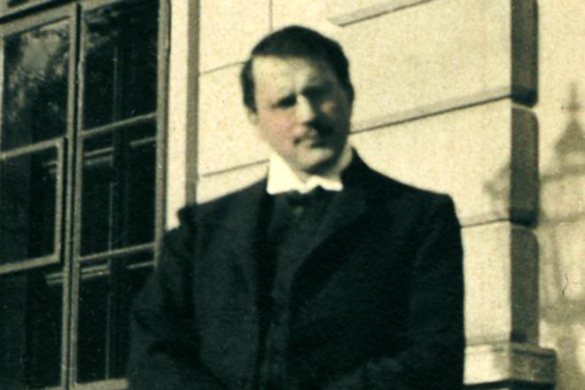 Карл Юнг в 1910 году