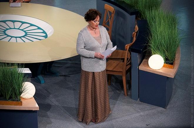 Лариса Гузеева - на съемках шоу