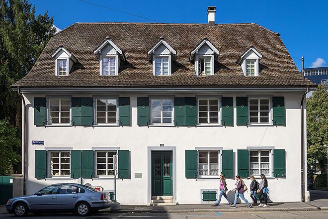 Дом, где вырос Карл Юнг