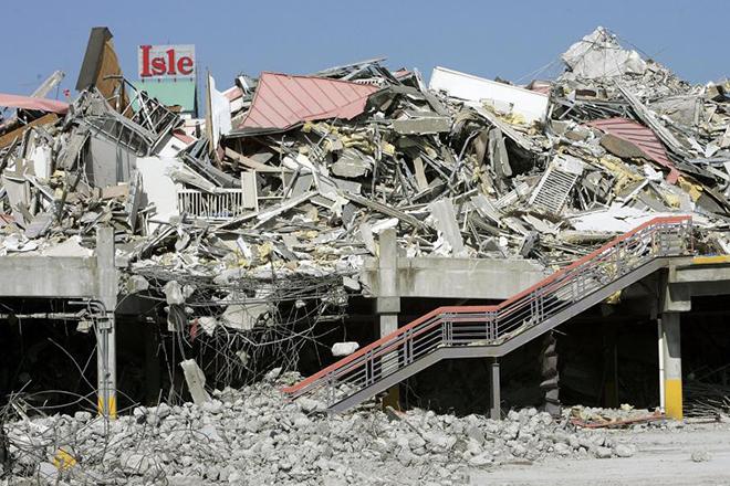 """Фото последствия урагана """"Катрина"""""""