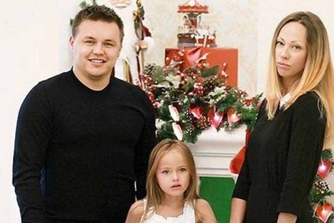 Кристины Пименова с родителями