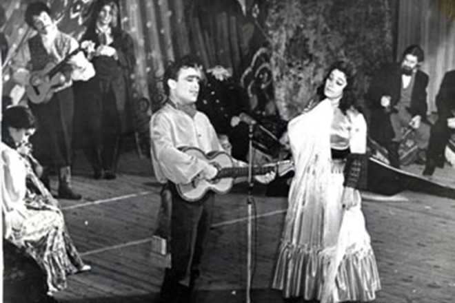 Николай Сличенко на сцене