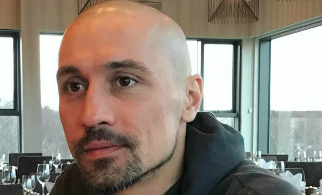 Дима Билан побрился наголо
