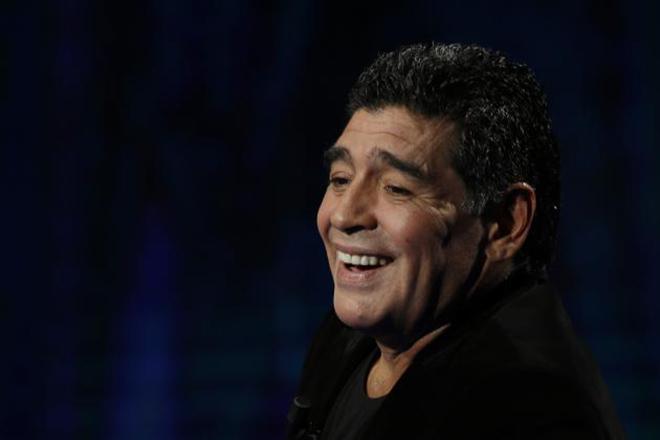 """Диего Марадона в шоу """"Ночь десятки"""""""