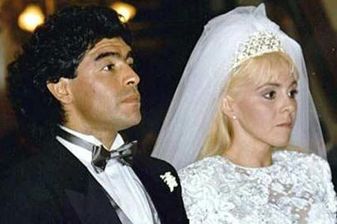 Свадьба Марадоны