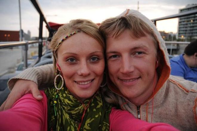 Анастасия Савосина и Сергей Мухин