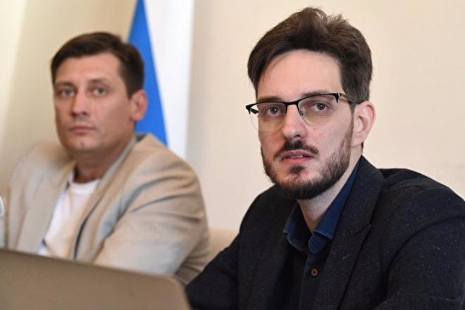 Дмитрий Гудков и Максим Кац