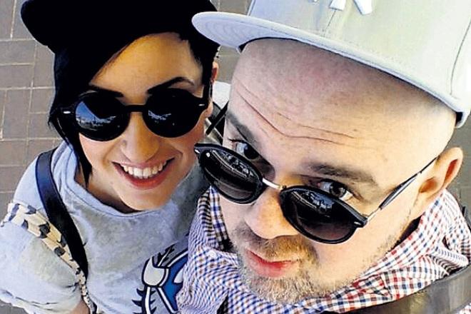 Катя Гершуни с мужем