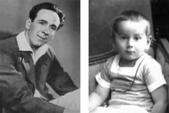 Ростислав Плятт в молодости и детстве