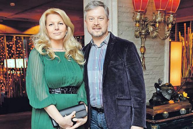 Валдис Пельш с женой Светланой