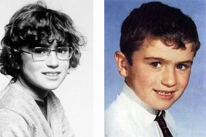 Джордж Майкл в детстве