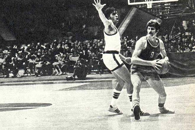 Баскетболист Иван Едешко в молодости