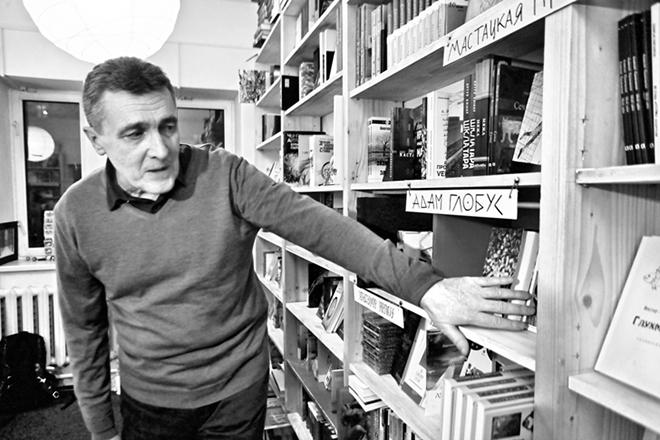 Писатель Владимир Адамчик