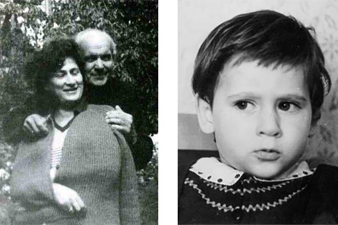 Евгений Дворжецкий в детстве