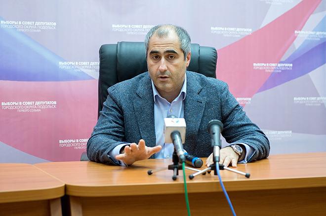 Общественный деятель Шота Горгадзе