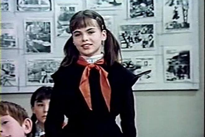 Инна Гомес в детстве