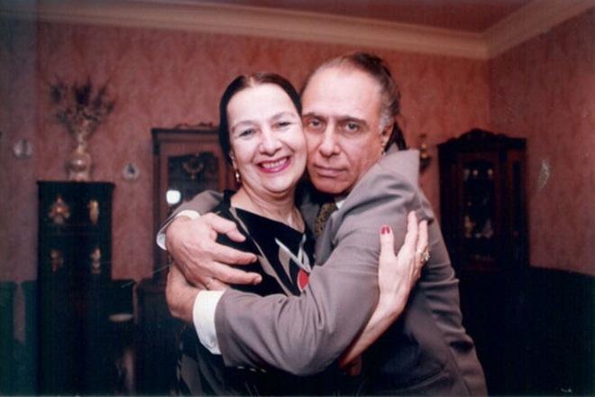 Николая Сличенко с женой