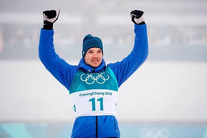Андрей Ларьков на Олимпиаде 2018 года