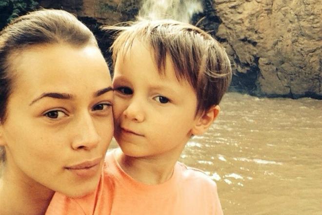 Дарья Храмцова без макияжа