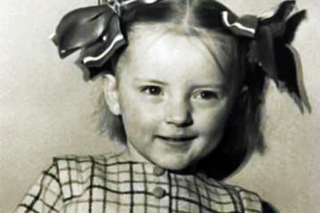 Марианна Вертинская в детстве