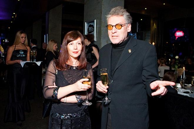 Артемий Троицкий с женой
