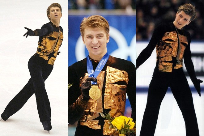 Алексей Ягудин на Олимпиаде-2002