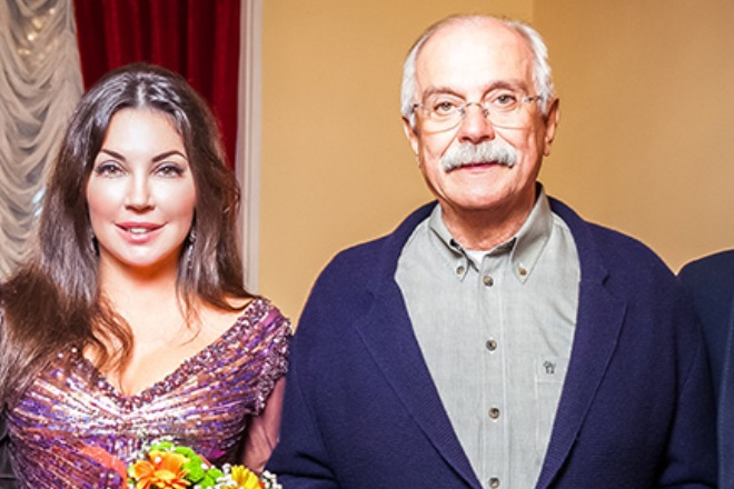 Мария Лемешева и Никита Михалков