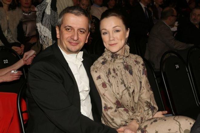 Дарья Мороз с мужем Константином Богомоловым