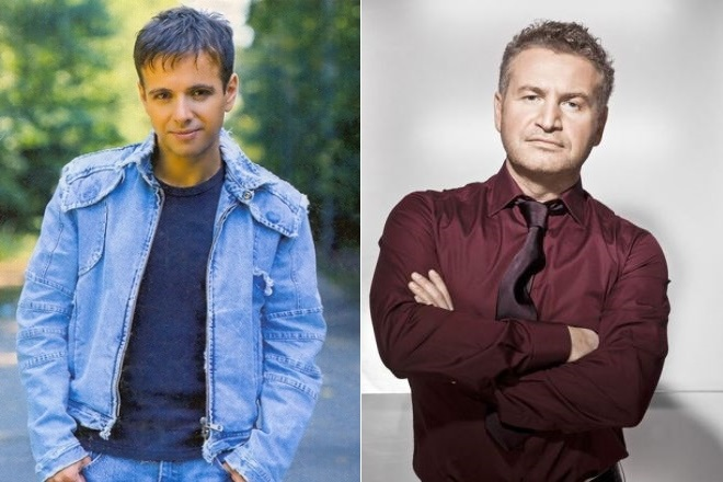 Андрей Губин и Леонид Агутин