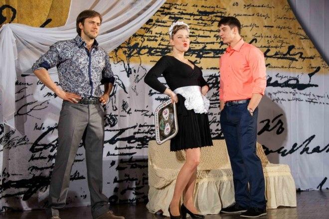 Иван Жидков в спектакле