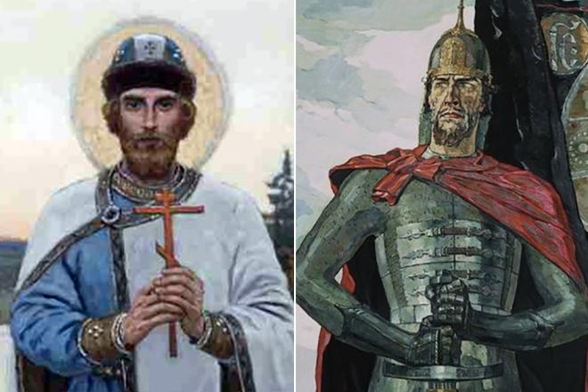 Даниил Московский и Александр Невский