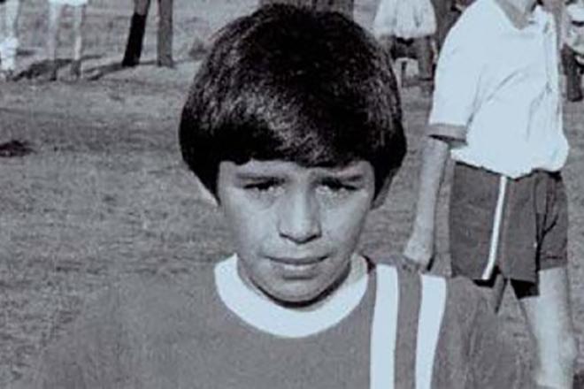 Диего Марадона в детстве
