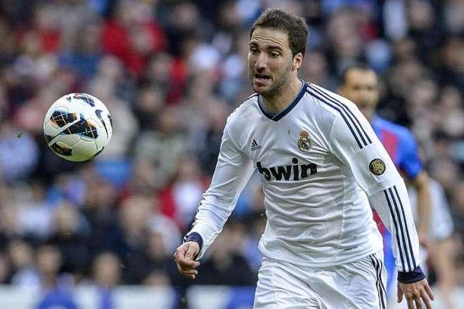 Гонсало Игуаин в составе ФК «Реал Мадрид»