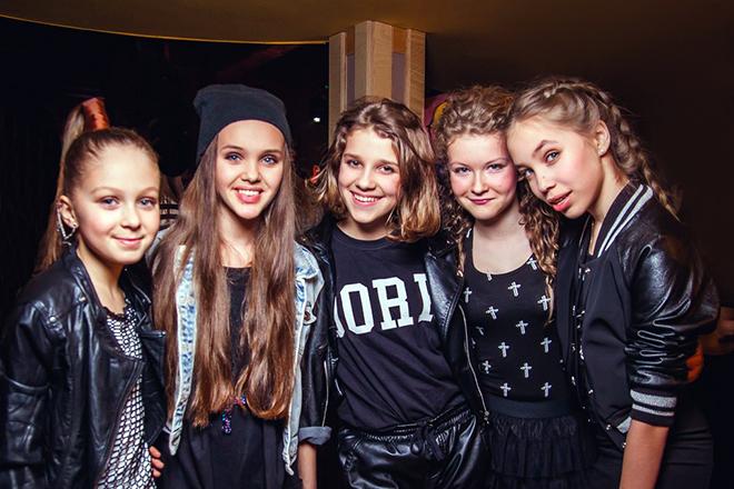 Ангелина Романовская и группа Open Kids