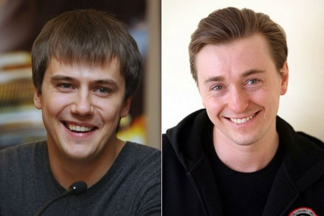 Иван Жидков и Сергей Безруков