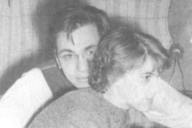 Андрей Кончаловский и Ирина Кандит