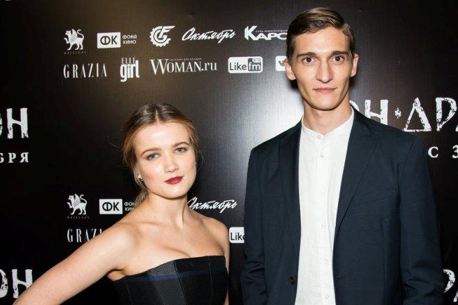 Мария Поезжаева и Матвей Лыков