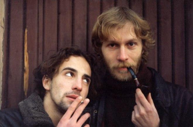 Илья Любимов с братом Олегом