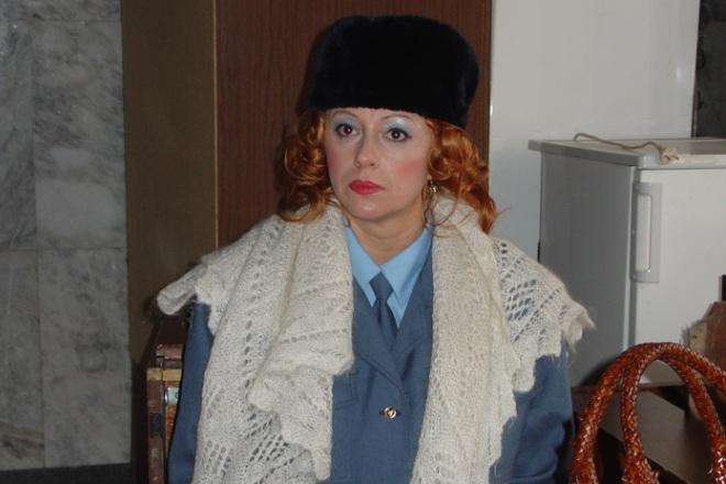 Алена Апина в фильме «Девочка с севера»