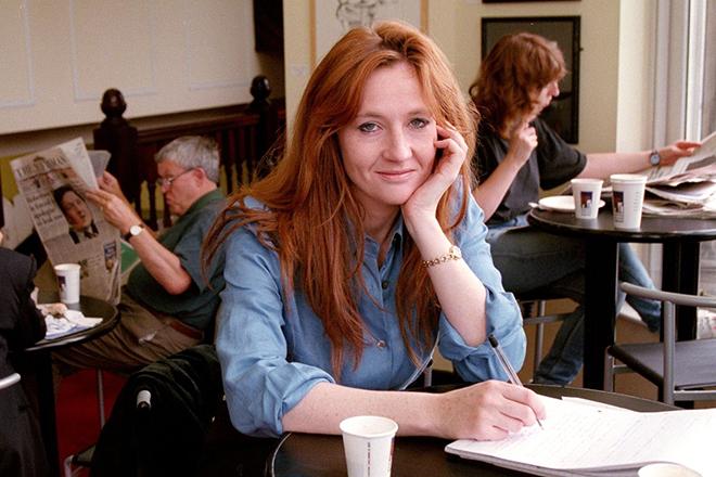 Джоан Роулинг в молодости