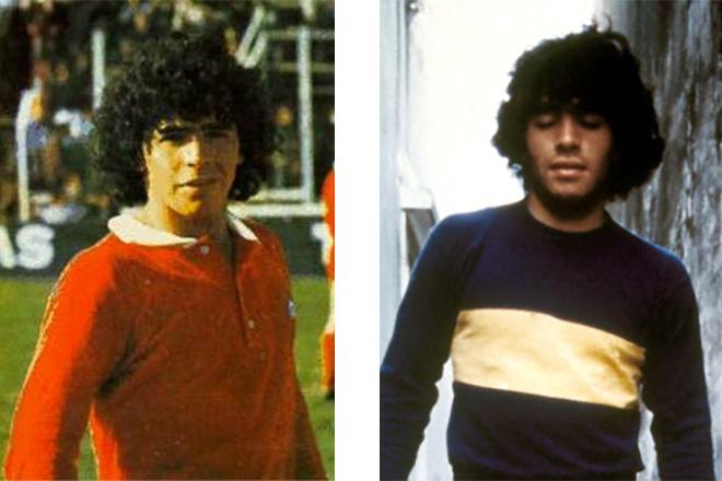 Диего Марадона в молодости