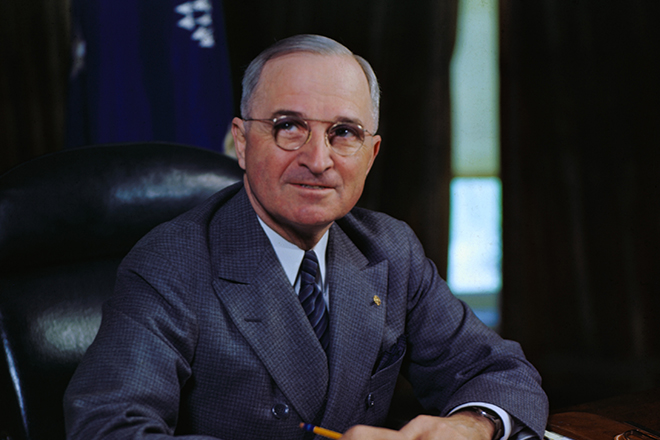 Президент Гарри Трумэн