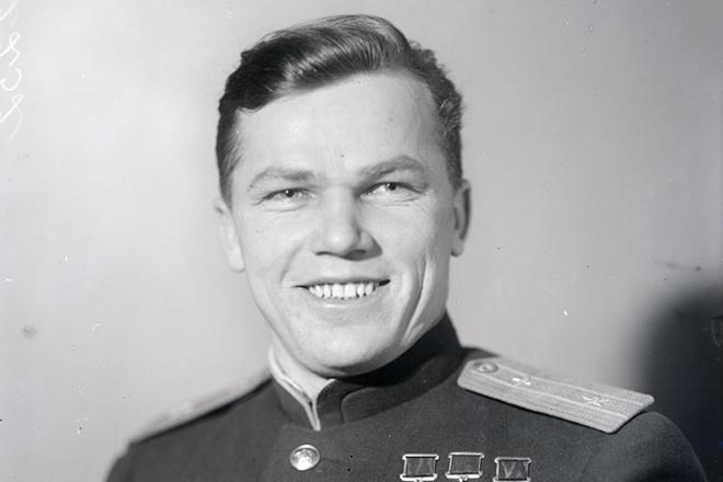 Иван Кожедуб в молодости