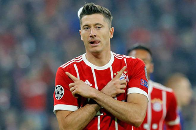 Роберт Левандовски в клубе «Бавария Мюнхен»