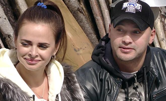 Виктория Романец и Андрей Черкасов на проекте «Дом-2»