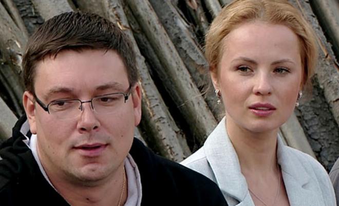 Александра Харитонова и Андрей Чуев