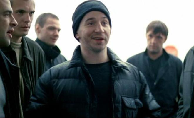 Петр Буслов на съемках фильма «Бумер»