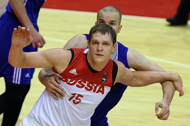 Тимофей Мозгов в составе сборной России
