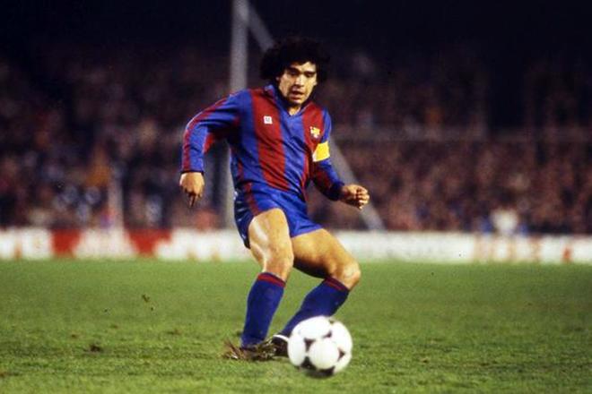 "Диего Марадона в ""Барселоне"""